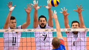 Deutsche Volleyballer nach 3:2-Krimi im EM-Finale