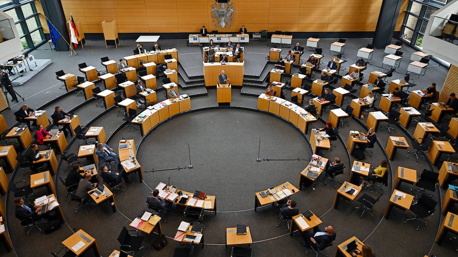 Soll schnell einen U-Ausschuss einsetzen: der Thüringer Landtag (Archivbild)