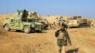 Irakische Soldaten in der Nähe von Ramadi (Bild vom 17. Dezember)