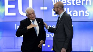 EU will Beitrittsgespräche mit Nordmazedonien und Albanien aufnehmen