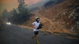 Erdogan spricht von schlimmsten Waldbränden in Geschichte der Türkei