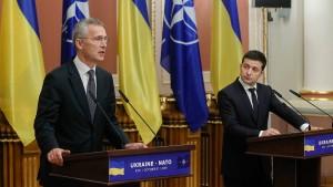 Stoltenberg fordert Abzug russischer Truppen