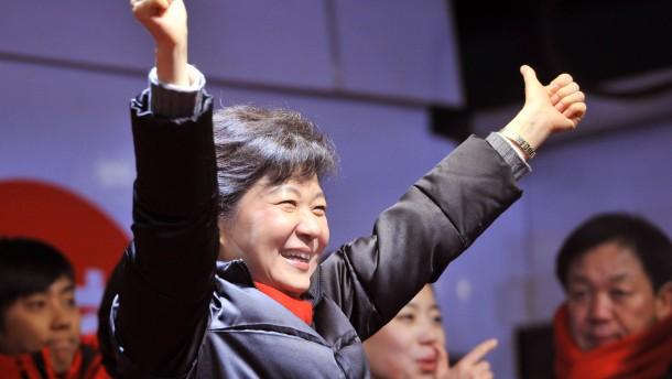 Park Geun-hye: Zuversichtlich