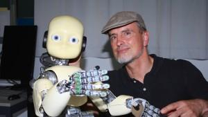 Intelligente Roboter werden vom Leben fasziniert sein