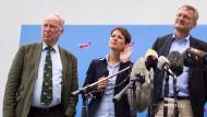 Einflussreiche AfD-Politiker gegen Petry