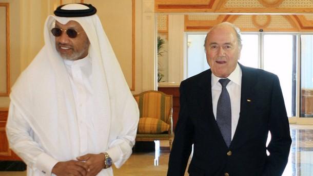 Blatter wusste von Schmiergeld aus Qatar