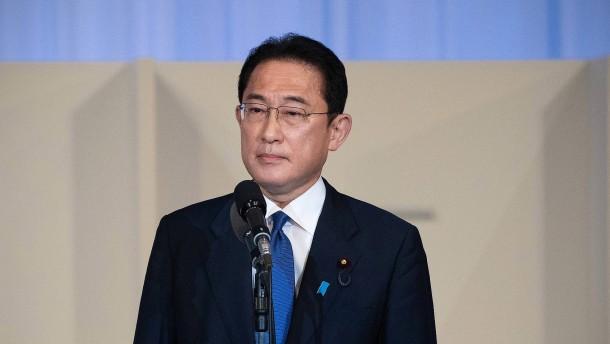 Fumio Kishida wird neuer japanischer Regierungschef