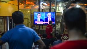 Seltenes TV-Duell vor Wiederholung der Bürgermeisterwahl