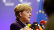 Angela Merkel hat nur noch wenig Gefolgschaft in der EU.