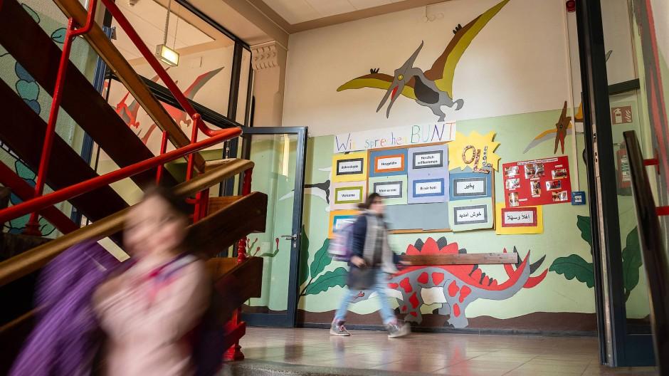Die Schüler der Gräfenauschule in Ludwigshafen haben zu mehr als neunzig Prozent einen Migrationshintergrund.