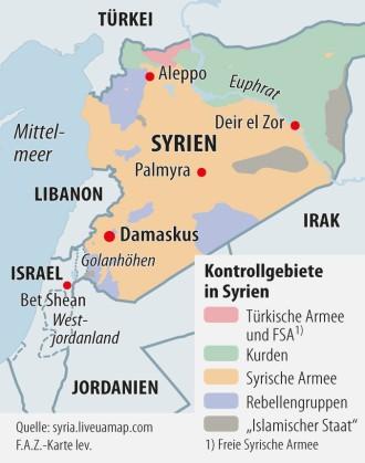 Syrien Karte Krieg.Israel Und Syrien Auf Dem Weg Zum Krieg Den Keiner Will