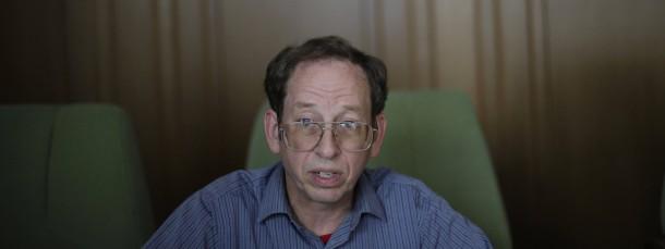 Wieder in Freiheit: Jeffrey Fowle - hier während eines Interviews Anfang September in Nordkorea