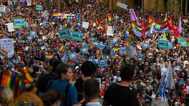"""Die """"Ehe für alle"""" spaltet Australiens Christen"""