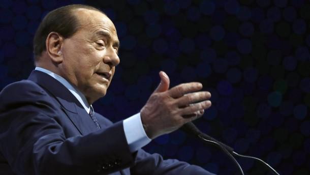 Silvio Berlusconi positiv auf Corona getestet