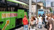Immer Ärger mit dem Fernbus