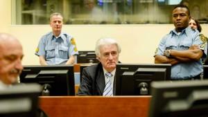40 Jahre Haft für Karadžić