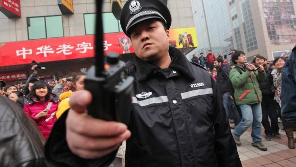 China nimmt 17 Aktivisten fest