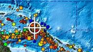 Schweres Beben bei Papua-Neuguinea