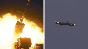 Nordkorea provoziert mit Marschflugkörpern