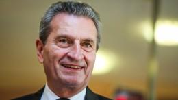 Oettinger will an die VDA-Spitze