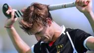Noch einmal aufrappeln: Florian Fuchs war – wie das gesamte Team – nach dem Aus gegen Argentinien tief geknickt