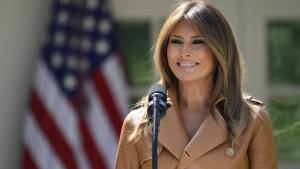 Melania Trump will sich stärker für Kinder einsetzen