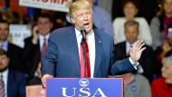 Trump will militärisches Engagement der begrenzen