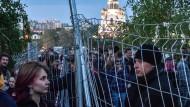 Nicht bei Verstand? Jekaterinburger Bürger protestieren gegen Kirchenbaupläne in einem Stadtpark