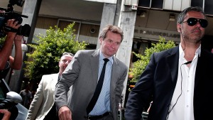 Die Athener Koalition erläutert der Troika ihre Sparpläne