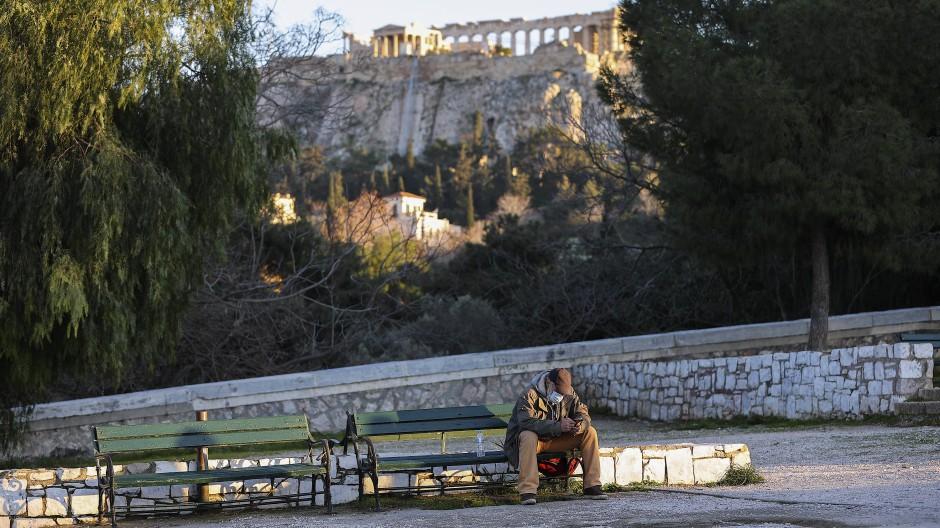 Der EU-Aufbaufonds soll auch Griechenland helfen.