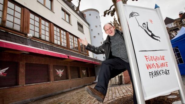"""Theaterhaus für Quasts """"Fliegende Volksbühne"""""""