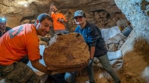 Erstmals seit Jahrzehnten Bibel-Fragmente in Israel entdeckt