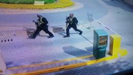 Überwachungsbilder zeigen Angreifer