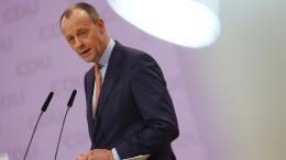 Merz will Wirtschaftsminister werden