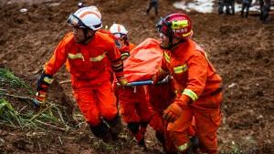 15 Tote nach Erdrutsch in China