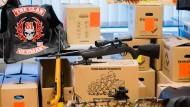 Polizei findet Waffen