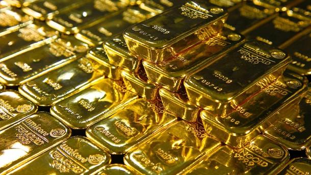Rekordhohe Zuflüsse in Goldfonds