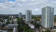 Nach Informationen der BBC müssen die fünf Chalcots-Estate-Hochhäuser geräumt werden