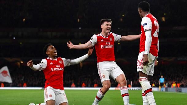 Arsenal und der blutjunge Wundersturm