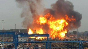 Einschnitt an Rohrleitung Ursache für BASF-Unglück