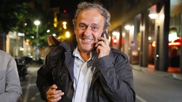 Polizei entlässt Platini aus Gewahrsam