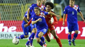Fellaini Belgium vs Croatia