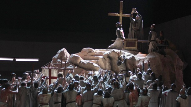 "Premiere Oper ""Parsifal"""