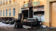 Brandanschlag auf Berliner Moschee