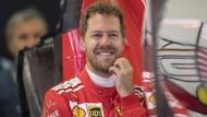 Tagesbestzeit für Sebastian Vettel in Sotschi im Ferrari.