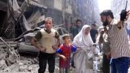 Offenbar wieder Angriff auf Krankenhaus in Aleppo
