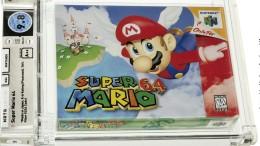"""Videospielkassette """"Super Mario 64"""" versteigert"""