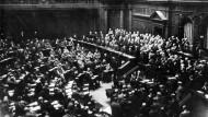Ein Kriegsresümee des Reichstags