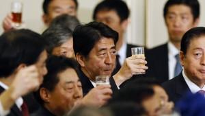 Abe ist gescheitert