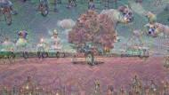 Dekonstruktivistischer Maler – Googles Artificial Neural Network präsentiert hier seinen Traum von einem roten Baum.